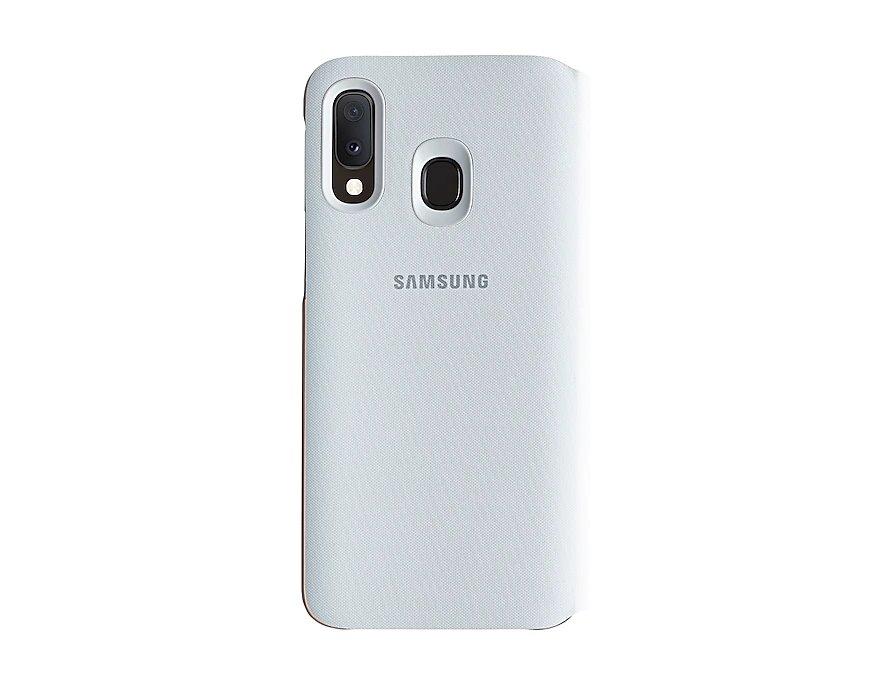 EF-WA202PWE Samsung Wallet Pouzdro pro Galaxy A20e White 8801643888015