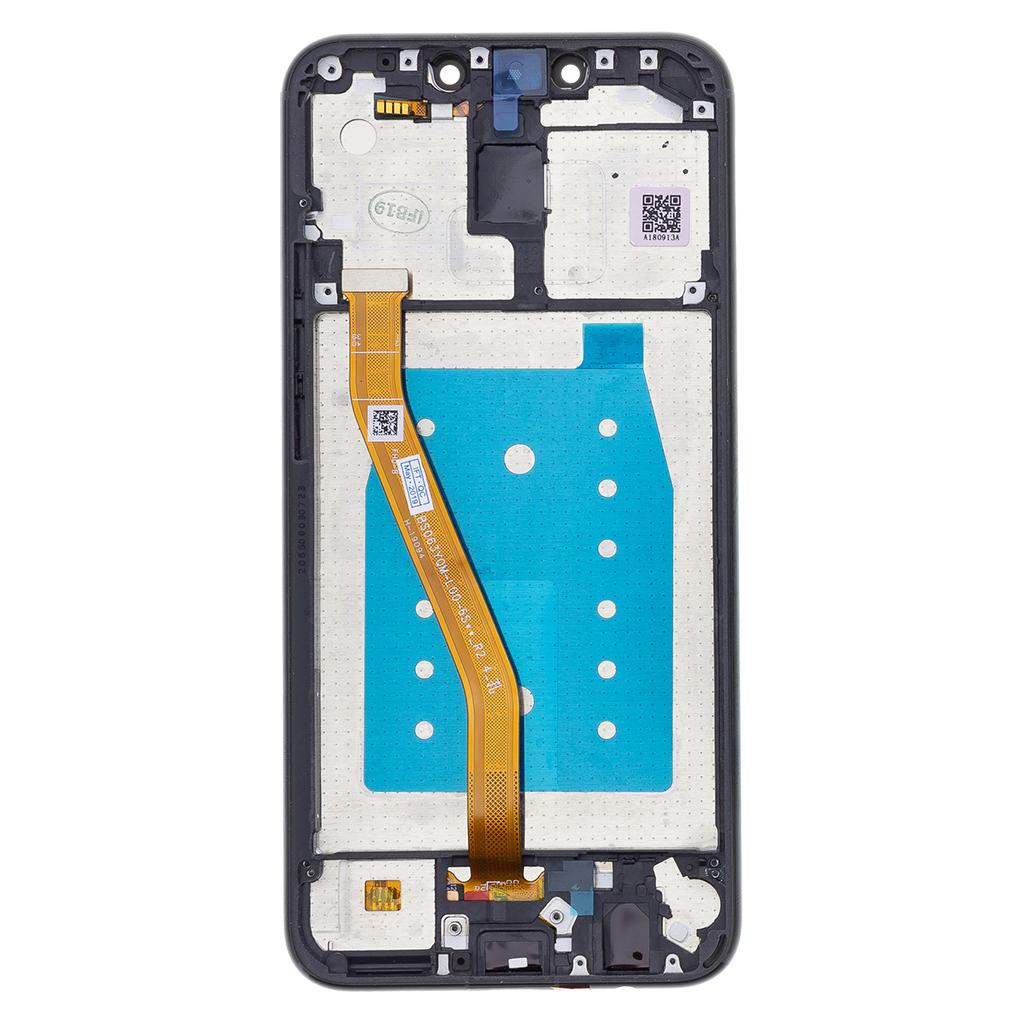 Huawei  Mate 20 Lite LCD Display + Dotyková Deska + Přední Kryt Black