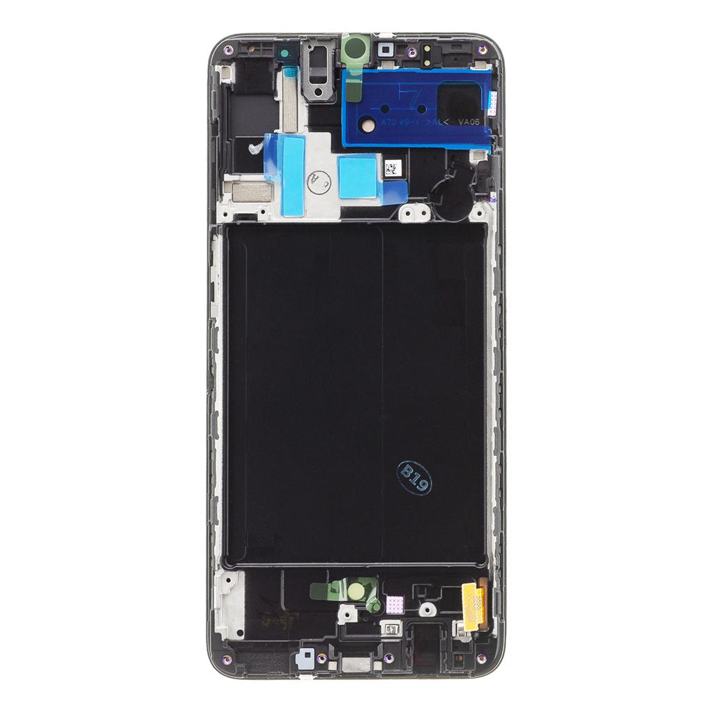 LCD display + Dotyk Samsung A705 Galaxy A70 Black (Service Pack)