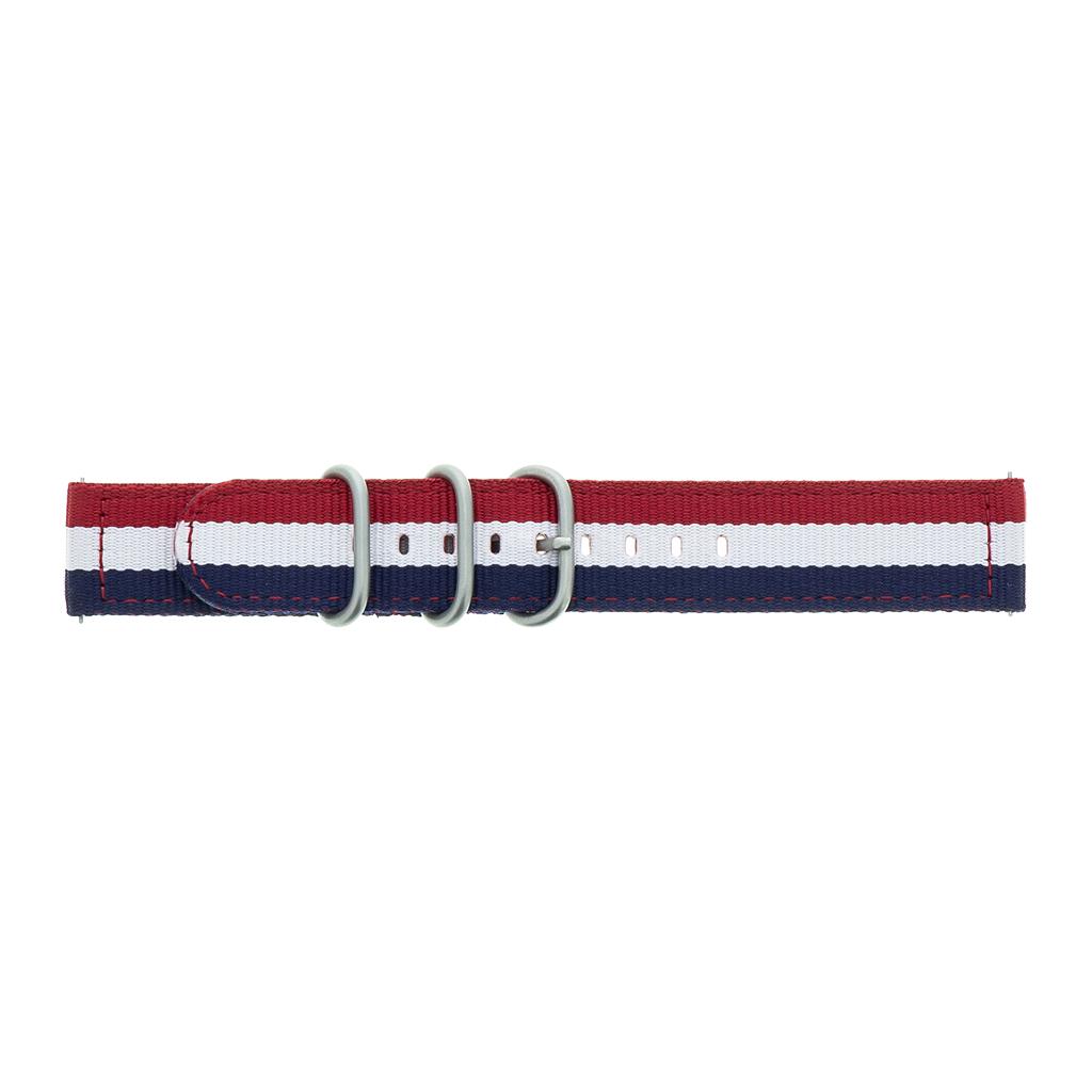 GP-R815SAEEBAB Samsung Watch Náhradní Pásek Red/White/Blue