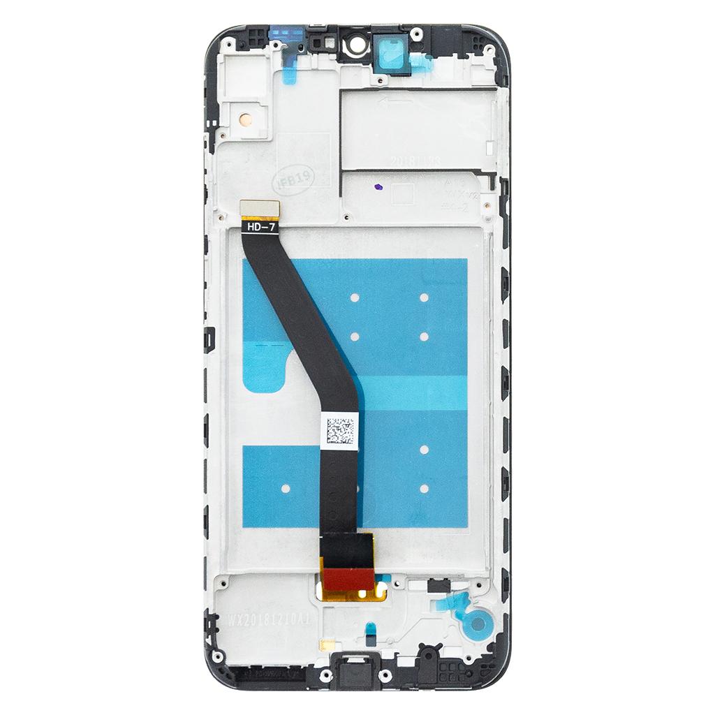 Huawei  Y6 2019 LCD Display + Dotyková Deska + Přední Kryt Brown