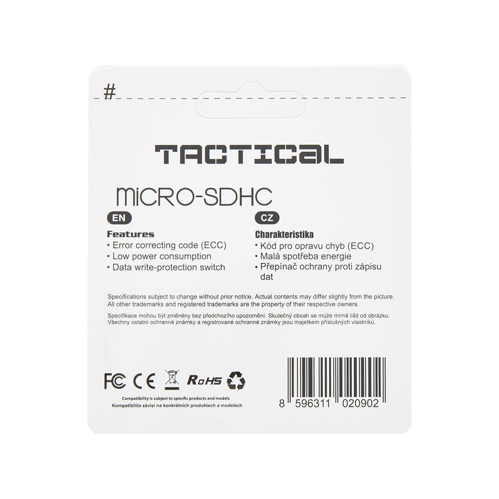 Tactical microSDHC 16GB Class 10 wo/a