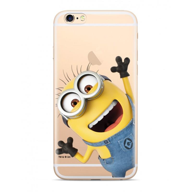 Minions Zadní Kryt 002 pro iPhone 5/5S/SE Transparent