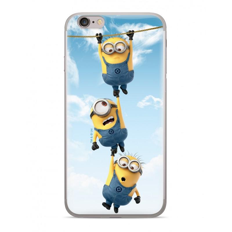 Minions Zadní Kryt 033 pro iPhone 5/5S/SE Blue
