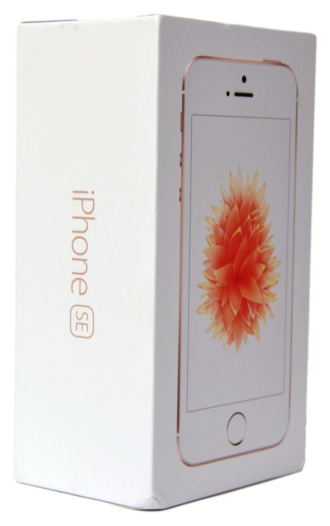 Apple iPhone SE Rose Gold Prázdný Box