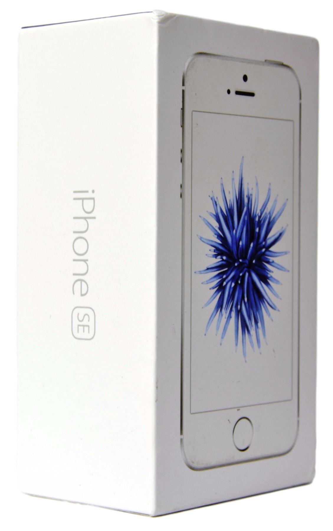 Apple iPhone SE Silver Prázdný Box