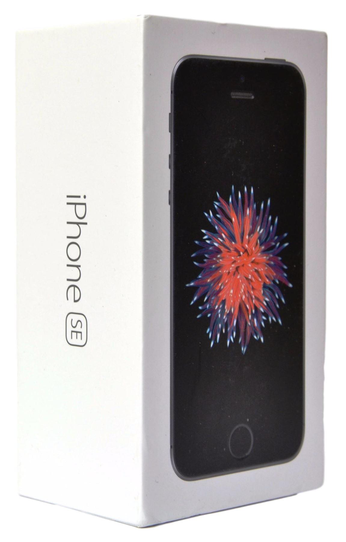 Apple iPhone SE Grey Prázdný Box
