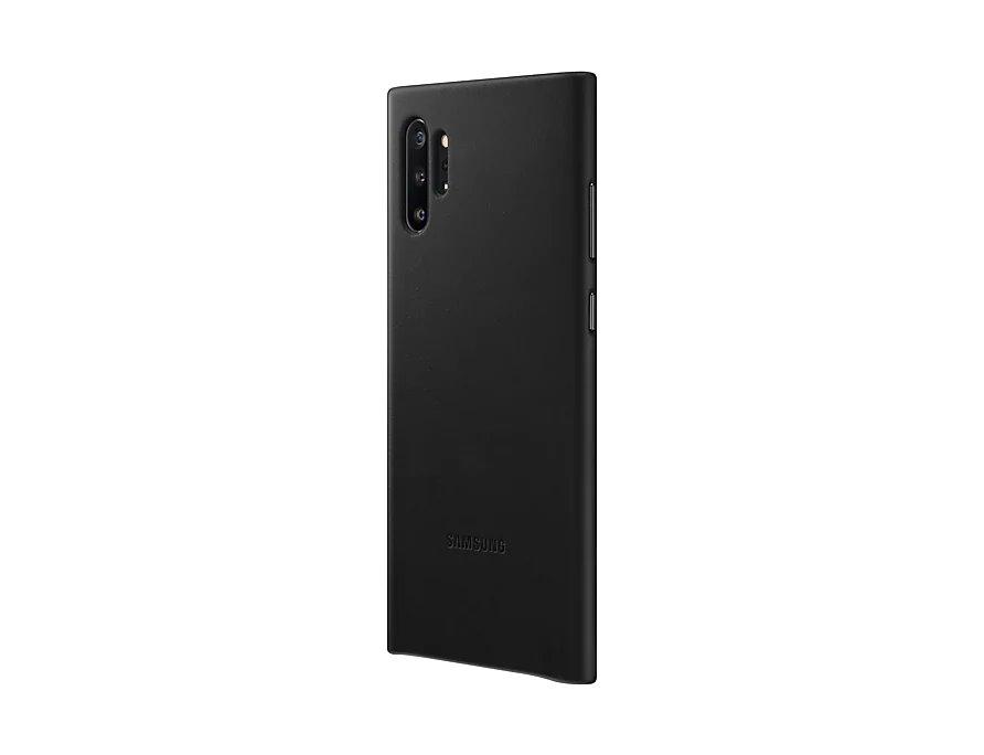 EF-VN975LBE Samsung Kožený Kryt Black pro N975 Galaxy Note 10+