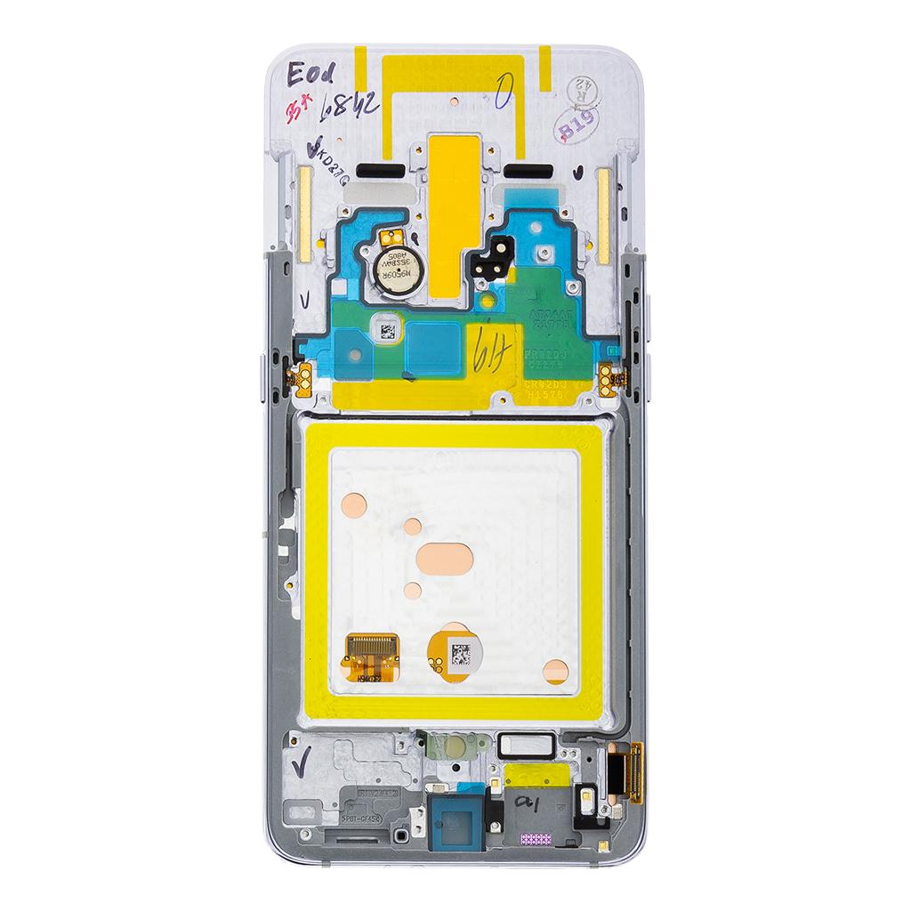 LCD display + Dotyk Samsung A805F Galaxy A80 Silver (Service Pack)