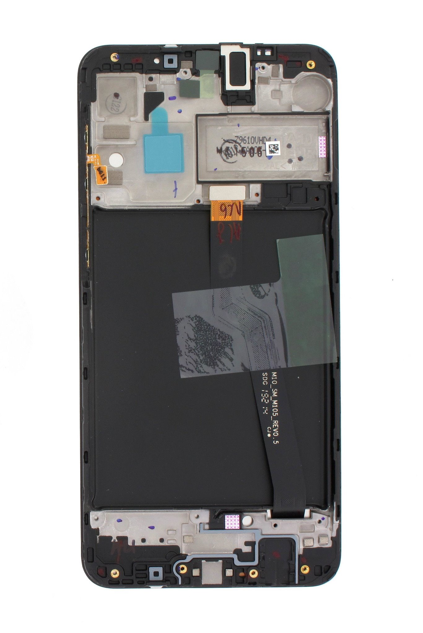 LCD display + Dotyk Samsung A105 Galaxy A10 Black (Service Pack)