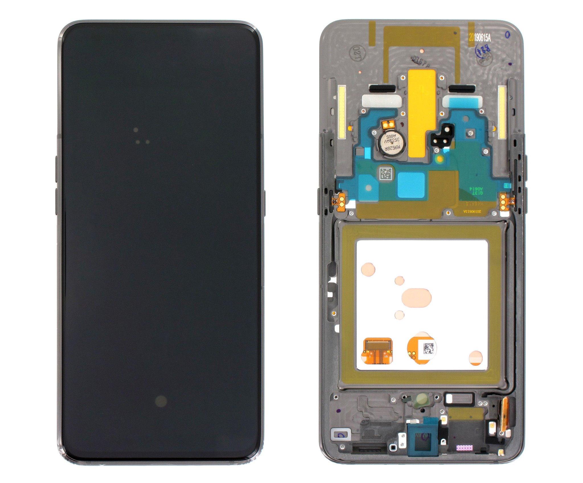 LCD display + Dotyk Samsung A805F Galaxy A80 Black (Service Pack)