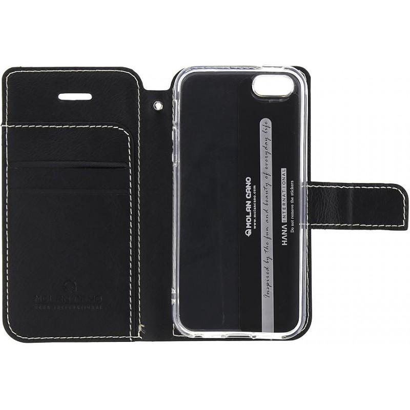 Molan Cano Issue Book Pouzdro pro Nokia 6.2/7.2 Black