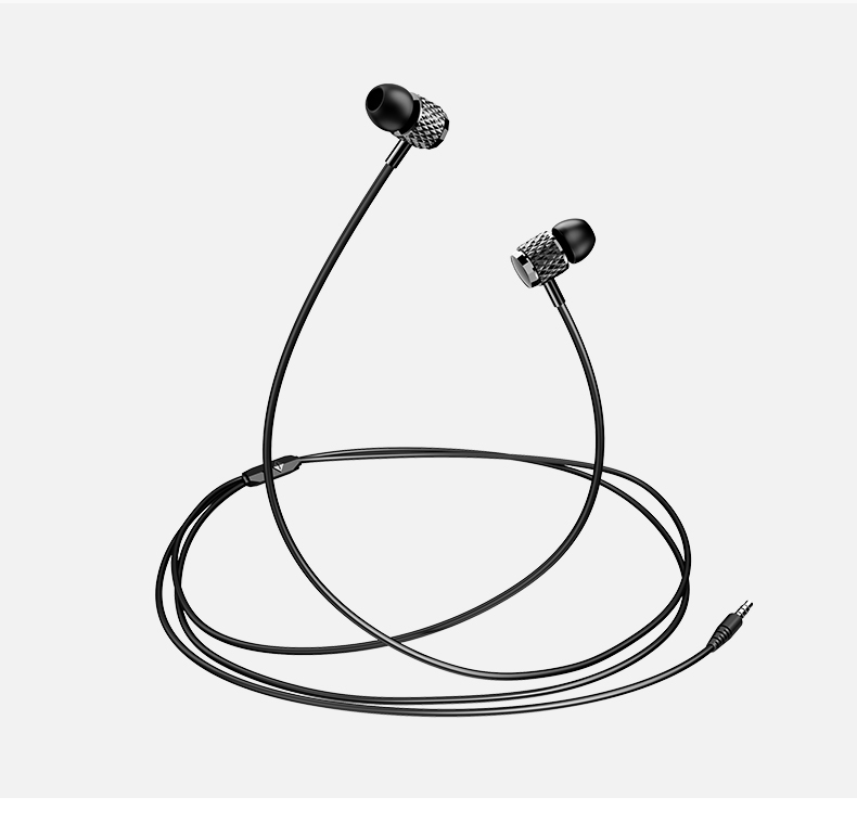 USAMS EP-38 In-Ear Electroplating Stereo Headset 3,5mm Tarnish