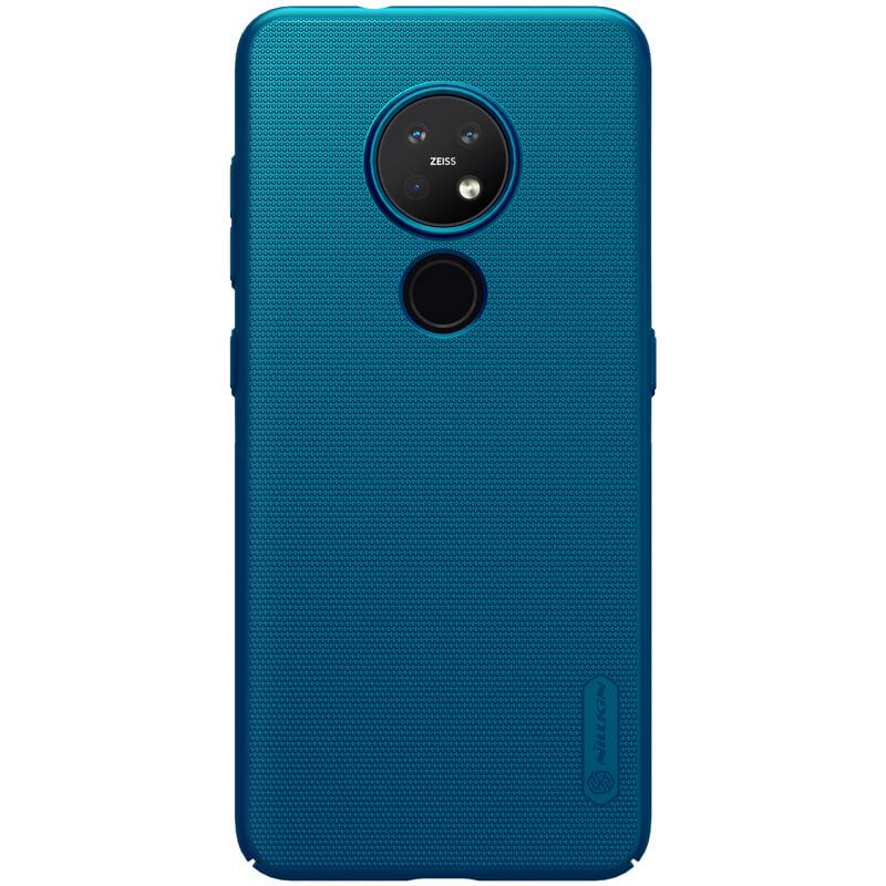 Nillkin Super Frosted Zadní Kryt pro Nokia 6.2/7.2  Peacock Blue