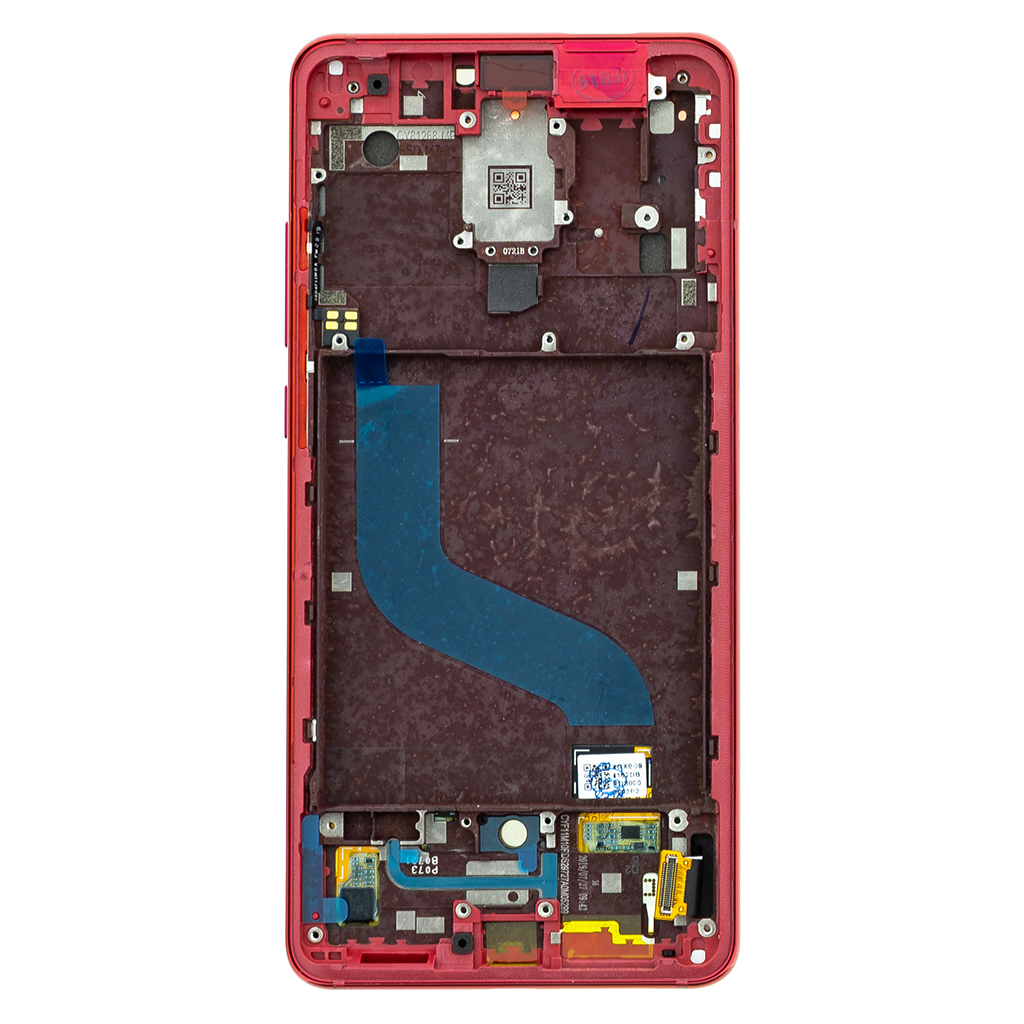 LCD Display + Dotyková Deska + Přední Kryt pro Xiaomi Mi9T Red