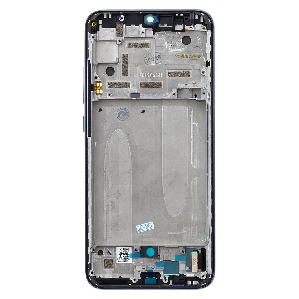 LCD Display + Dotyková Deska + Přední Kryt pro Xiaomi Mi A3 Black