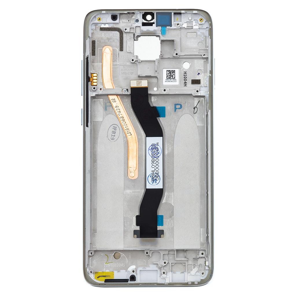 LCD Display + Dotyková Deska + Přední Kryt pro Xiaomi Redmi Note 8 Pro White