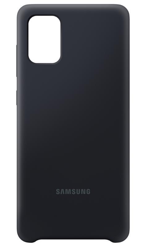EF-PA715TBE Samsung Silikonový Kryt pro Galaxy A71 Black 8806090268489
