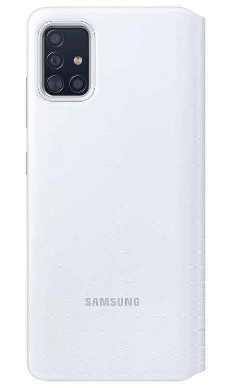 EF-EA715PWE Samsung S-View Pouzdro pro Galaxy A71 White 8806090268588