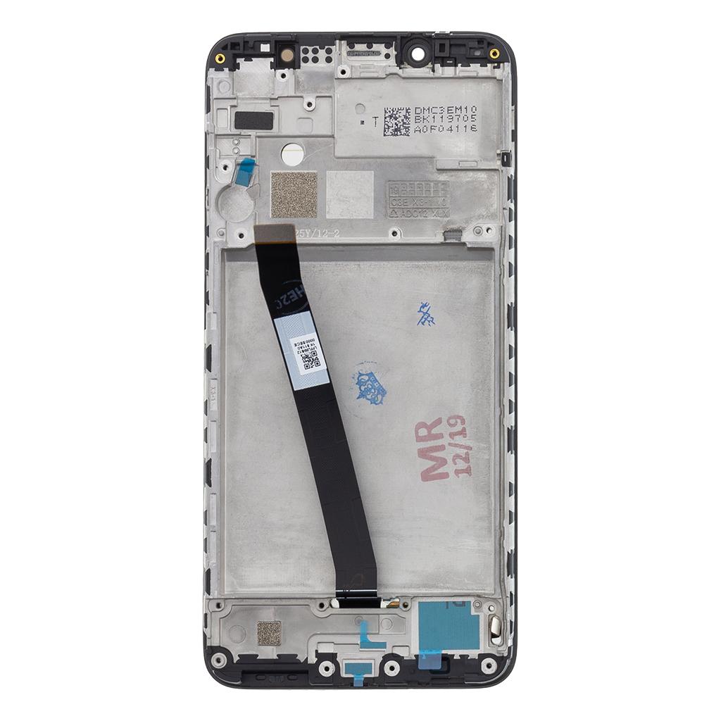LCD Display + Dotyková Deska + Přední Kryt pro Xiaomi Redmi 7A Black (Service Pack)