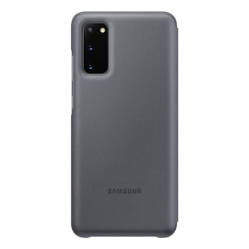 EF-NG980PJE Samsung LED S-View Pouzdro pro Galaxy S20 Grey 8806090292248