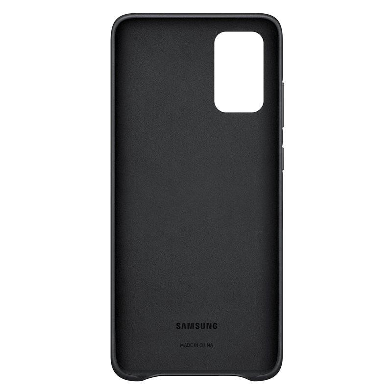 EF-VG985LBE Samsung Kožený Kryt pro Galaxy S20+ Black 8806090266119