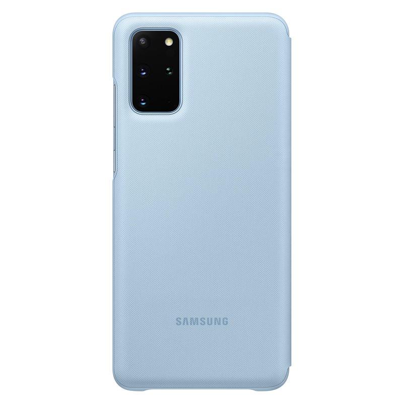 EF-NG985PLE Samsung LED S-View Pouzdro pro Galaxy S20+ Blue 8806090273858