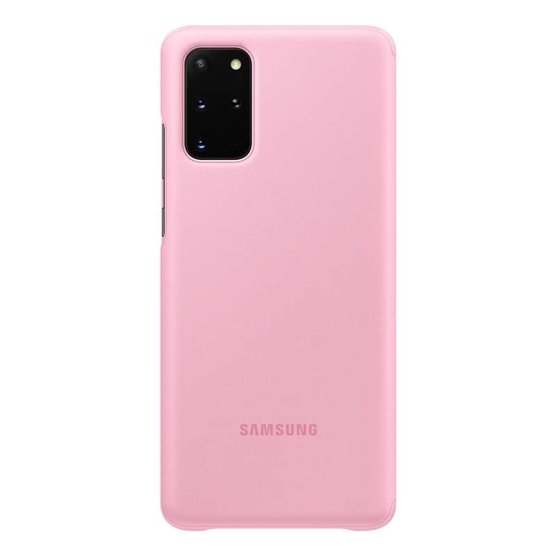 EF-ZG985CPE Samsung Clear S-View Pouzdro pro Galaxy S20+ Pink 8806090267239
