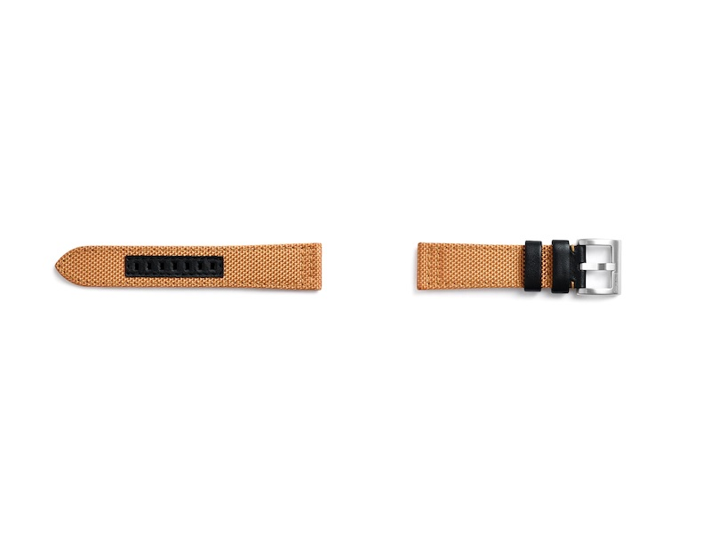 GP-R770BREECAC Samsung Watch Textilní Kvadrat Řemínek Orange