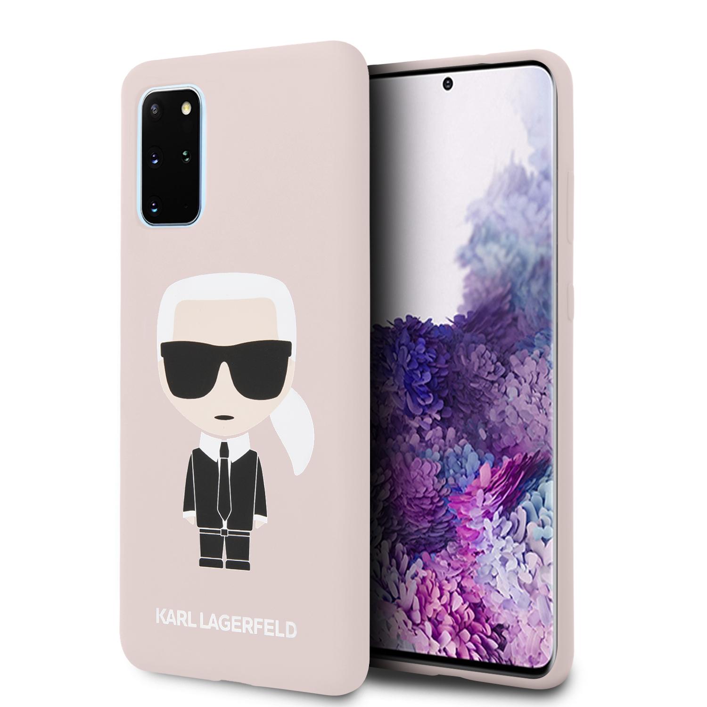 KLHCS67SLFKPI Karl Lagerfeld Full Body Kryt pro Samsung Galaxy S20+ Pink 3700740473276