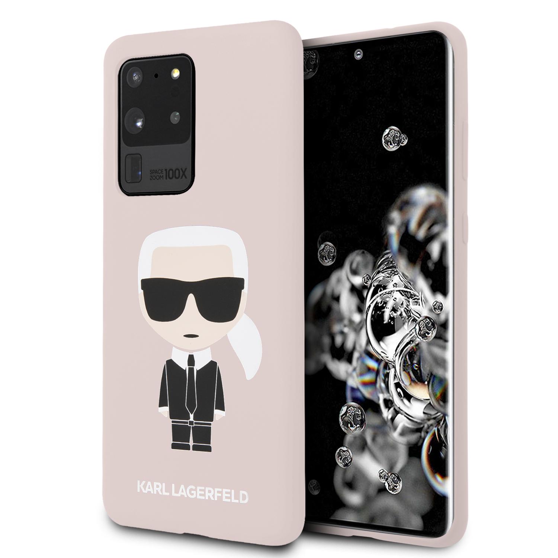 KLHCS69SLFKPI Karl Lagerfeld Full Body Kryt pro Samsung Galaxy S20 Ultra Pink 3700740473283