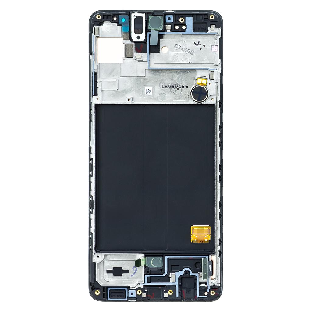 LCD display + Dotyk Samsung A515 Galaxy A51 Black (Service Pack)
