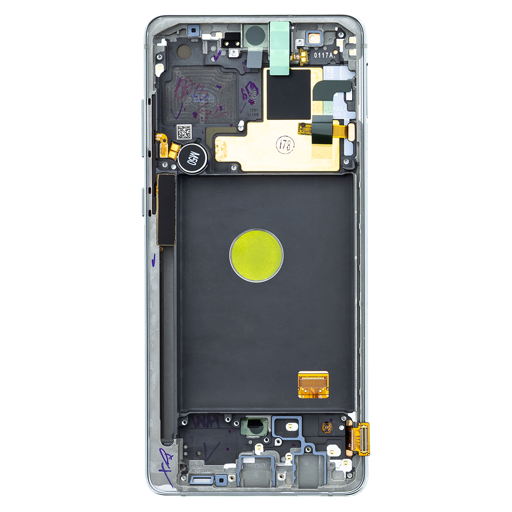 LCD display + Dotyk Samsung N770 Galaxy Note 10 Lite Silver (Service Pack)