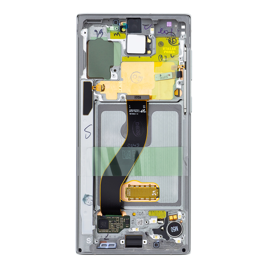 LCD display + Dotyk Samsung N970 Galaxy Note 10 Aurora Glow Silver (Service Pack)