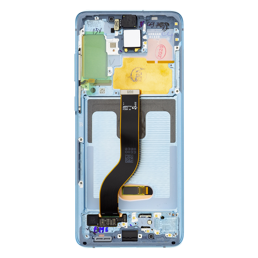 LCD display + Dotyk Samsung G986/G985 Galaxy S20+ Cloud Blue (Service Pack)
