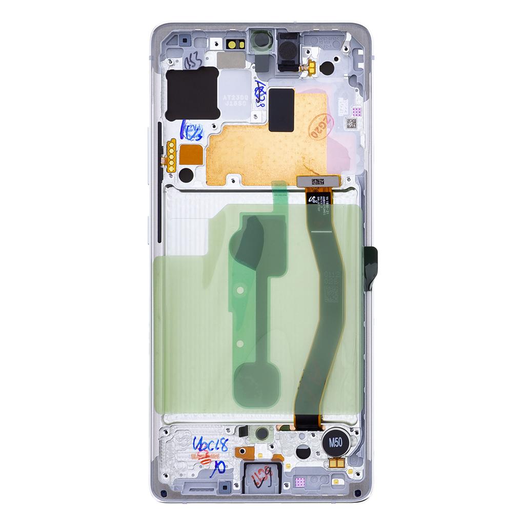 LCD display + Dotyk Samsung G770F Galaxy S10 Lite Prism White (Service Pack)