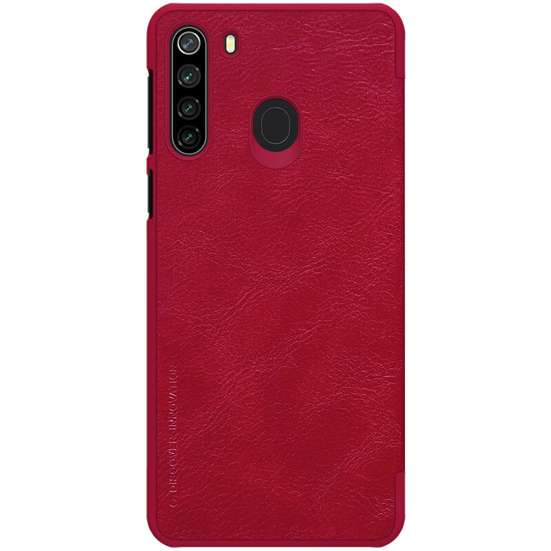 Nillkin Qin Book Pouzdro pro Samsung Galaxy A21 Red 6902048196919