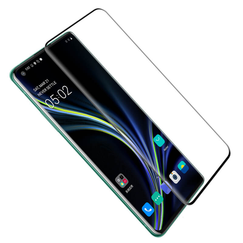 Nillkin Tvrzené Sklo 3D DS+ MAX Diamond Jade Black pro One Plus 8