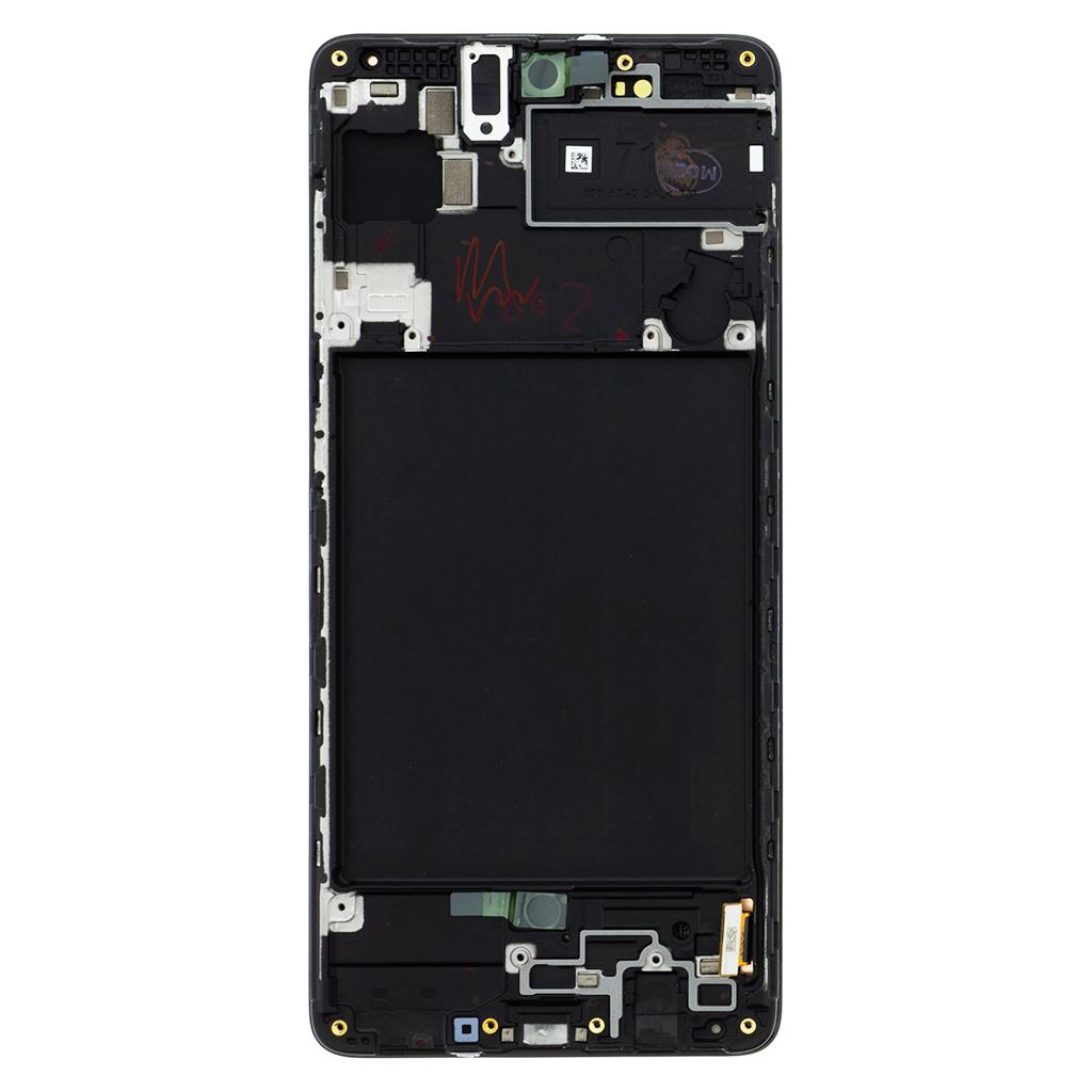 LCD display + Dotyk Samsung A715 Galaxy A71 Black (Service Pack)