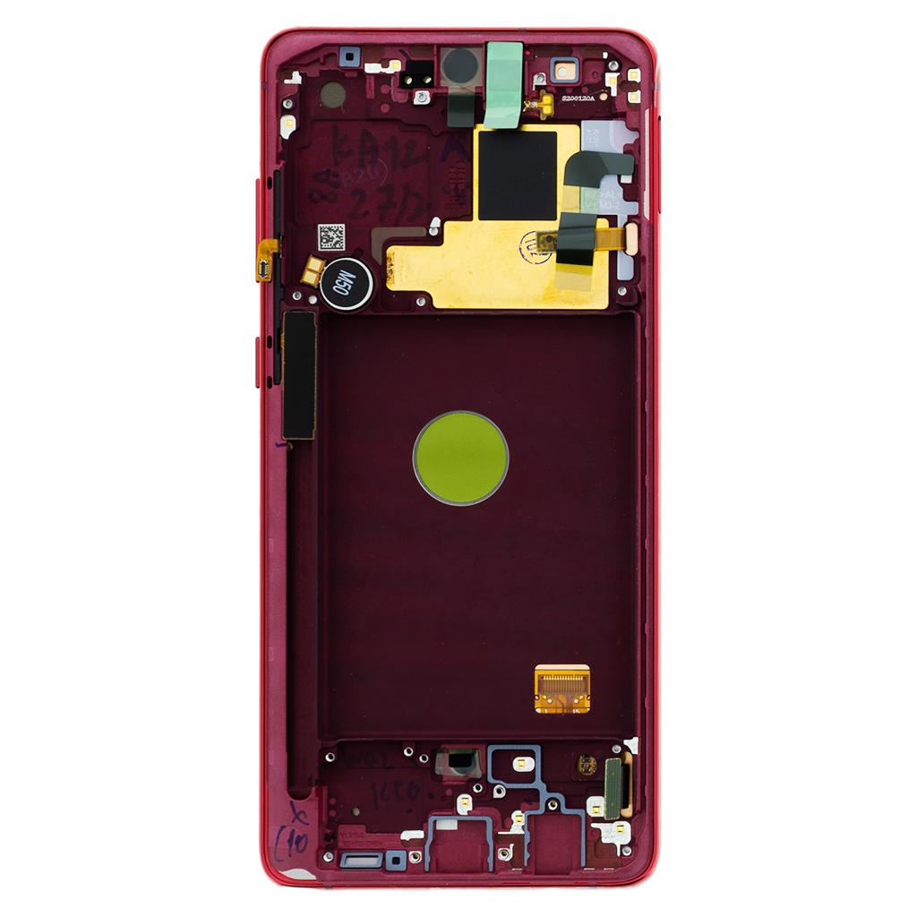 LCD display + Dotyk Samsung N770 Galaxy Note 10 Lite Red (Service Pack)