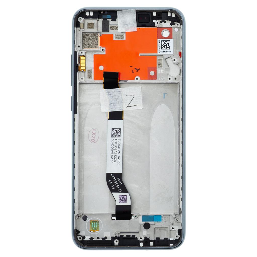 LCD Display + Dotyková Deska + Přední Kryt pro Xiaomi Redmi Note 8T Tarnish (Service Pack)
