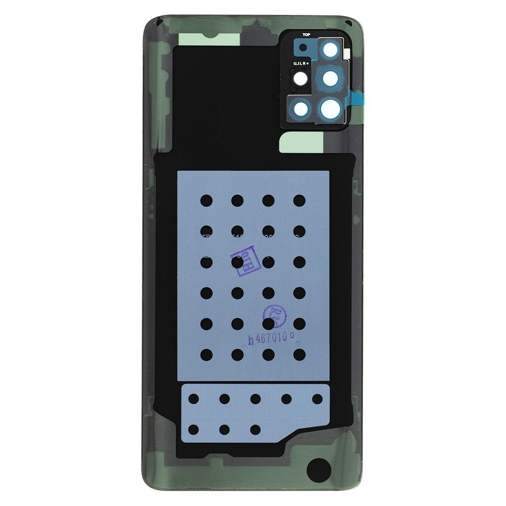 Samsung Galaxy A51 Kryt Baterie Crush Black (Service Pack)