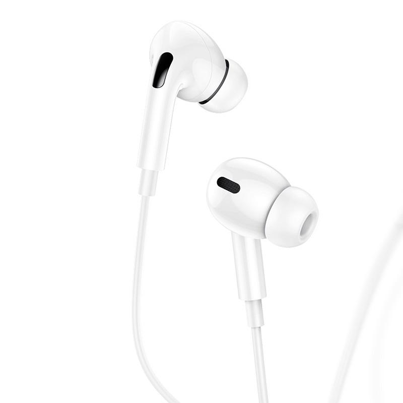 USAMS EP-41 In-Ear Stereo Headset Lightning 1,2m White