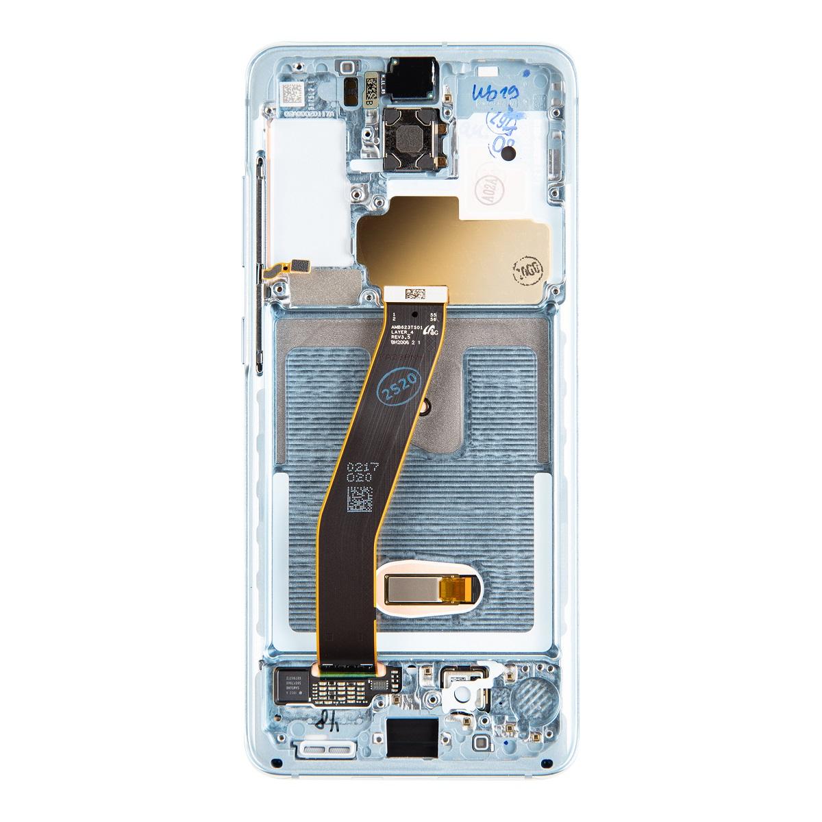 LCD display + Dotyk Samsung G980 Galaxy S20 Blue (Service Pack)