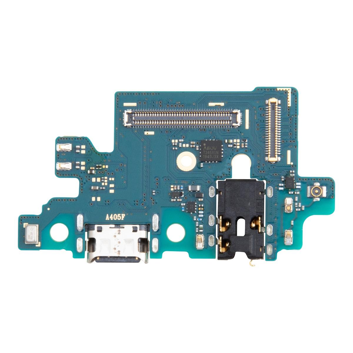 Samsung Galaxy A40 Deska vč. Dobíjecího Konektoru (Service Pack)
