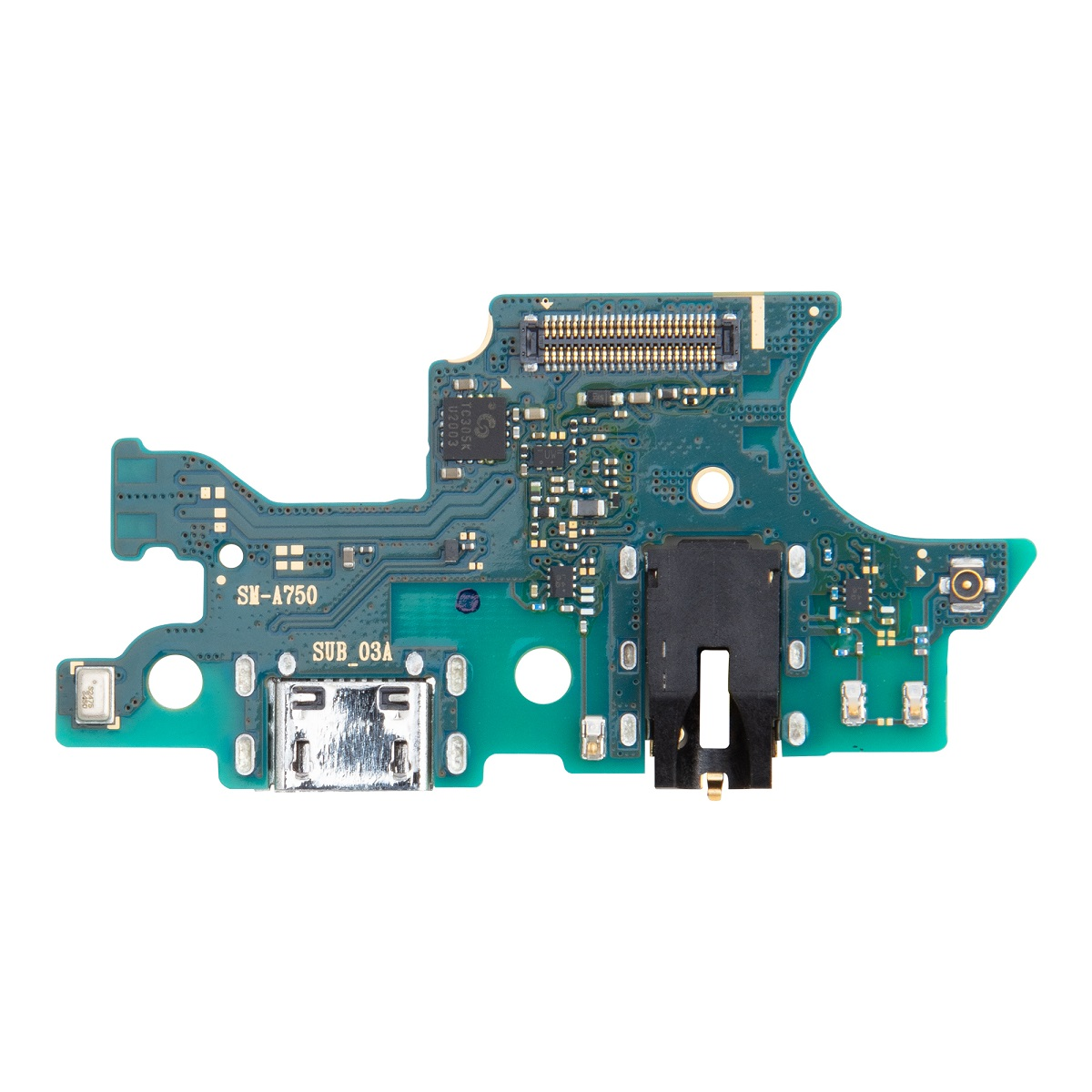 Samsung A750 Galaxy A7 2018 Deska vč. Dobíjecího Konektoru (Service Pack)