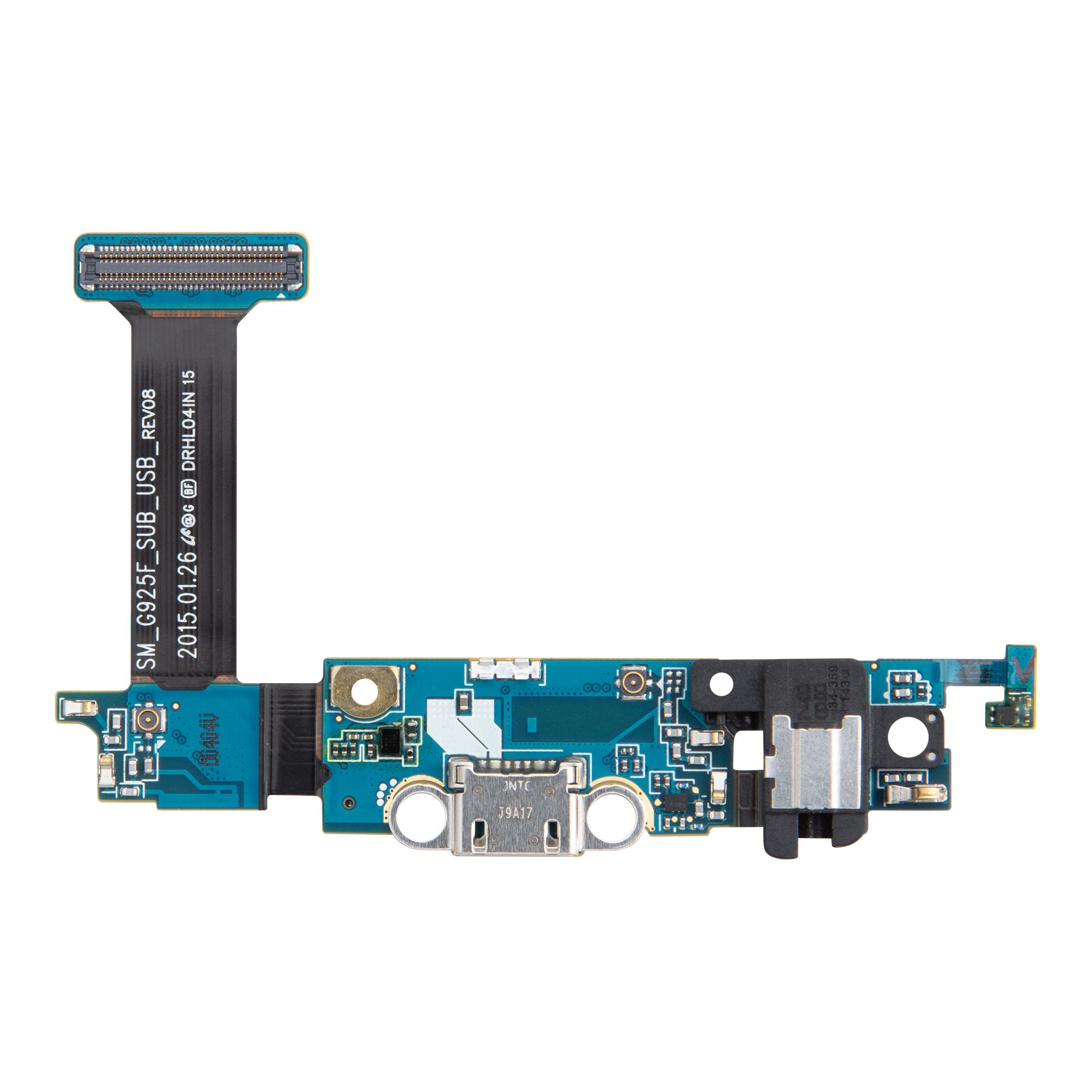 Samsung G925 Galaxy S6 Edge Deska vč. Dobíjecího Konektoru (Service Pack)