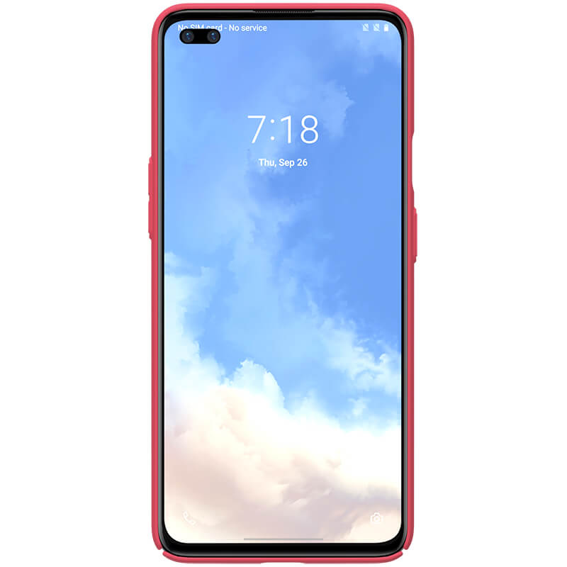 Nillkin Super Frosted Zadní Kryt pro OnePlus Nord Bright Red