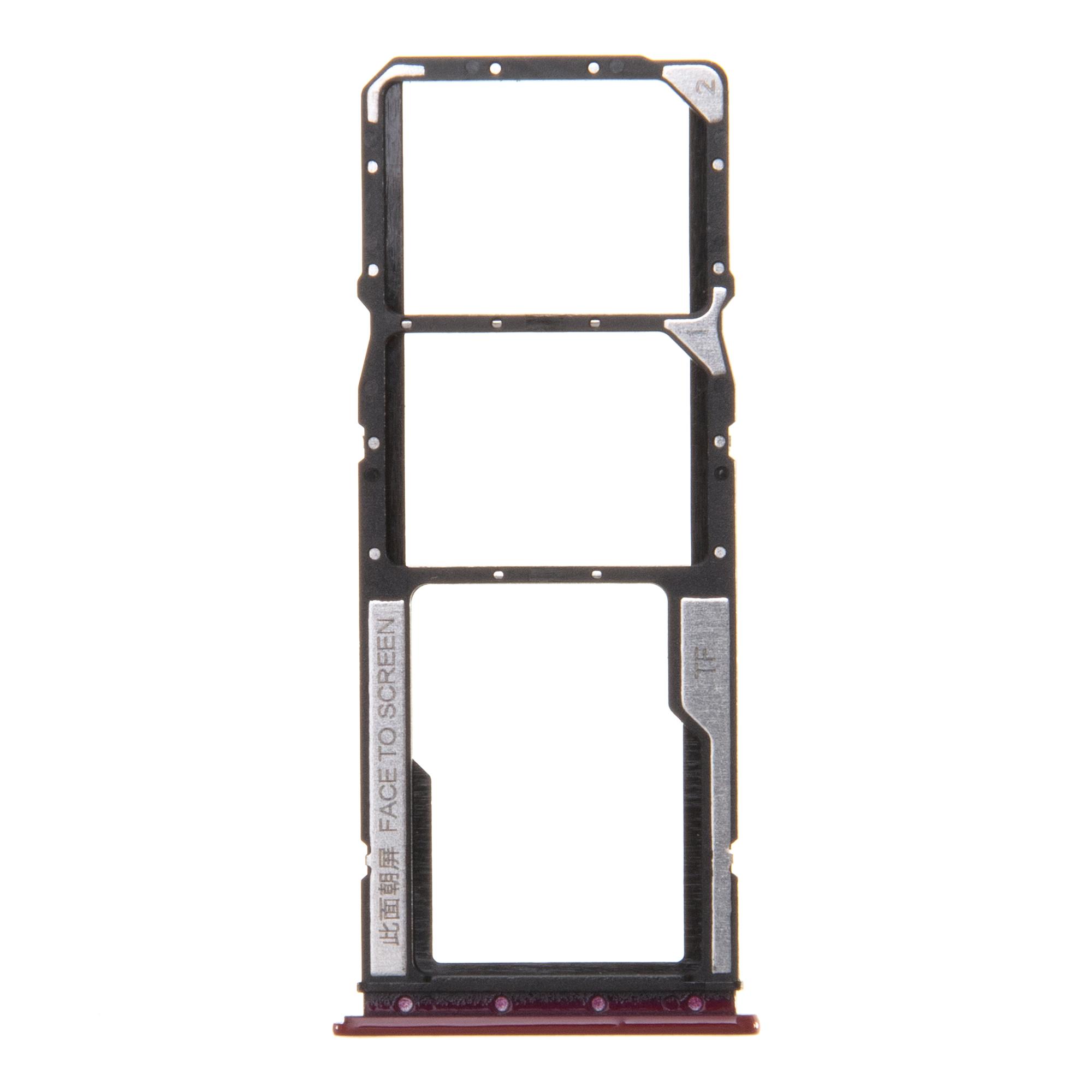 Xiaomi Redmi 8 Držák SIM a Pam.Karty Red