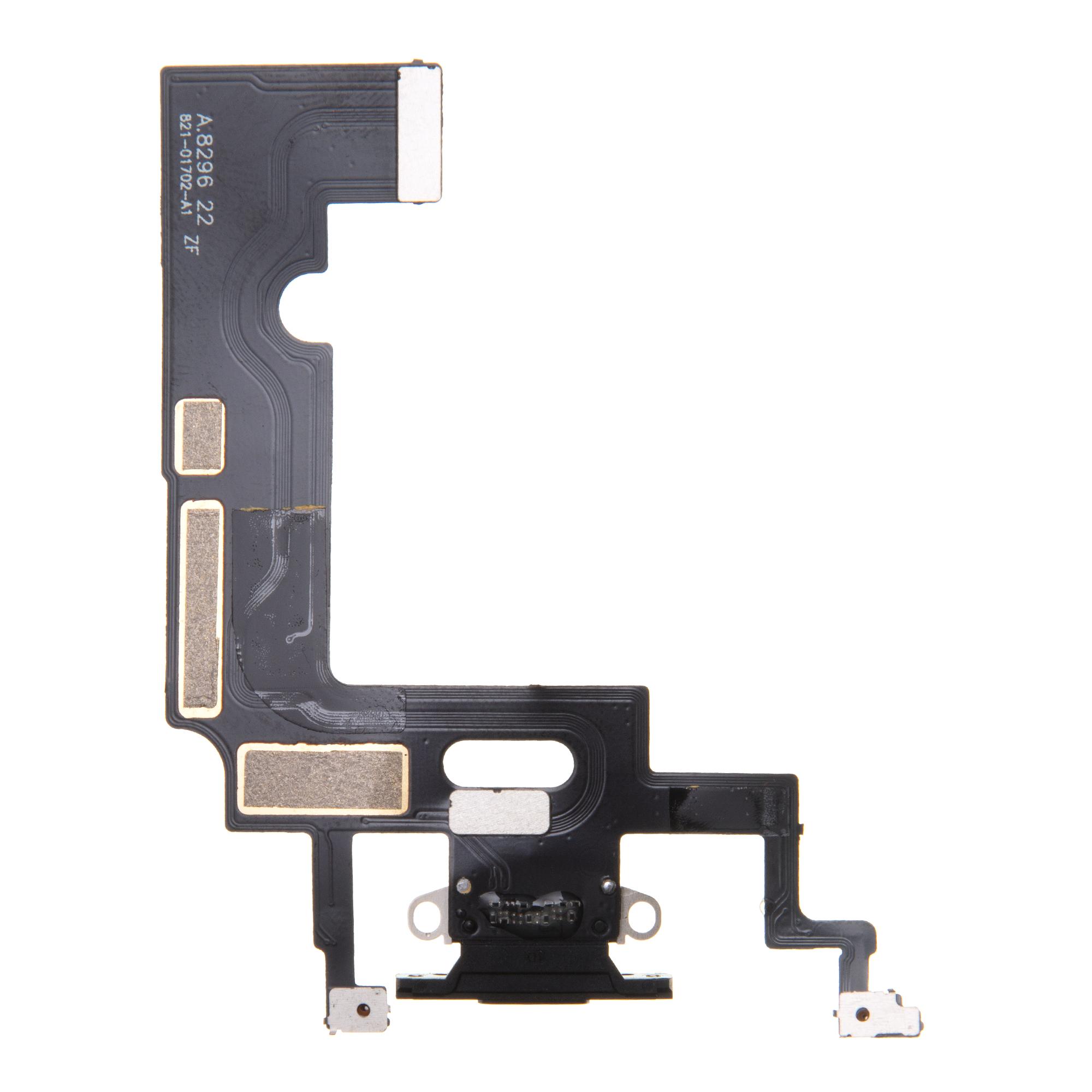 iPhone XR Flex Kabel vč. Dobíjecího Konektoru Black